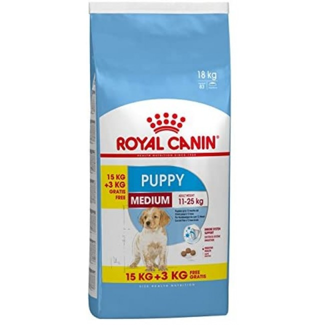 ROYAL CANIN MEDIUM PUPPY 15+3кг