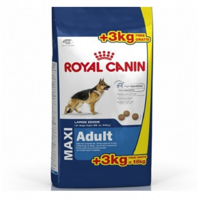 Royal Canin MAXI ADULT Корм для больших собак 18կգ