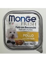 MONGE FRESH POLLO с курицей  100 грамм