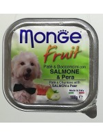MONGE Fruit 100грамм Лосось и груша.