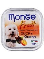 MONGE FRUIT 100 грамм. Утка апельсин