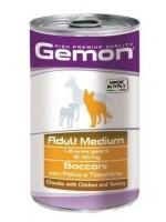 Gemon Dog Medium Adult Chicen 1250 г