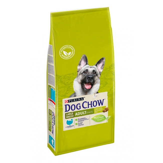 PURINA DOG CHOW ADULT LARGE BREED корм для собак