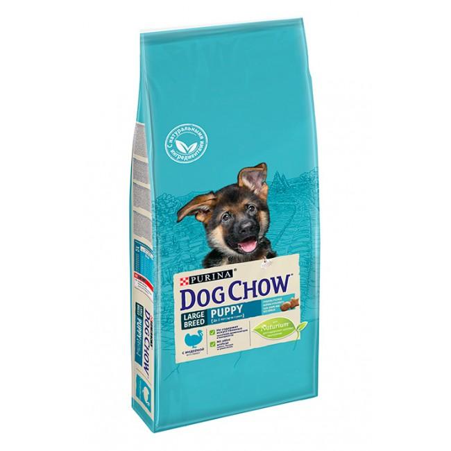DOG CHOW PUPPY LARGE BREED для щенков