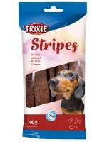 TRIXIE Stripes Лакомство с говядиной для собак 100г
