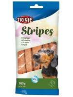 TRIXIE Stripes Лакомство с мясом домашней птицы, 100 г