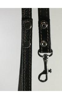 Поводок кожаный для собаки, 2,5 см