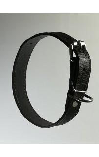 Кожаный ошейник для собак 2 см