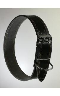 Кожаный ошейник 5 см
