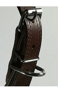 Кожаный ошейник 3,5 см