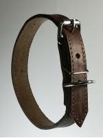 Кожаный ошейник 2,5 см