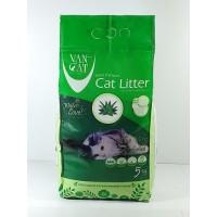 Van Cat Бентонит для кошек с запахом алоэ 5кг.
