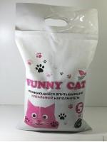 FUNNY CAT бентонит + цеолит 5 кг