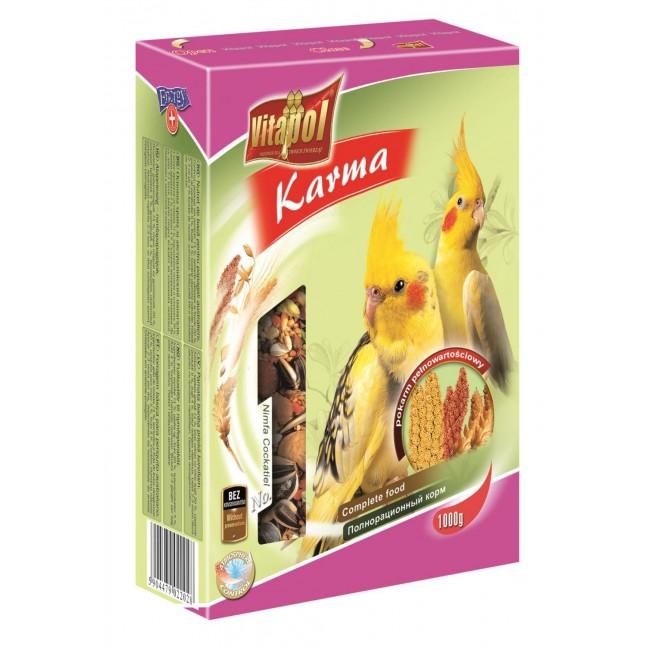 Корм для попугаев среднего размера  VITAPOL.