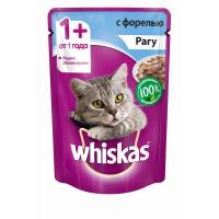 Корм для кошек Whiskas рагу 85г,